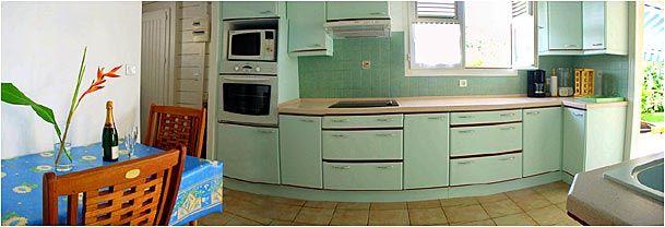 Sep. kitchen Location Villa 8123 Sainte Anne (Martinique)