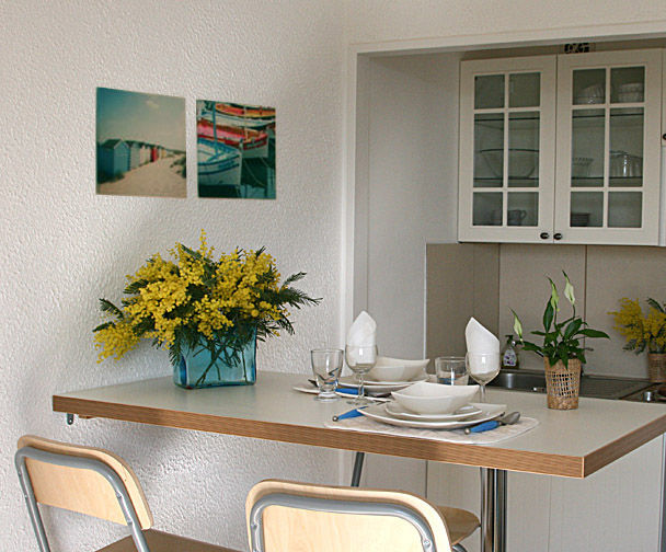 Kitchenette Location Studio apartment 8501 Saint Raphael