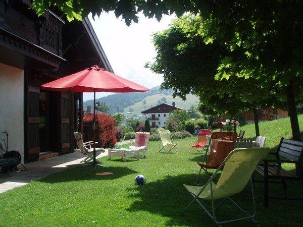 Garden Location Chalet 912 Combloux