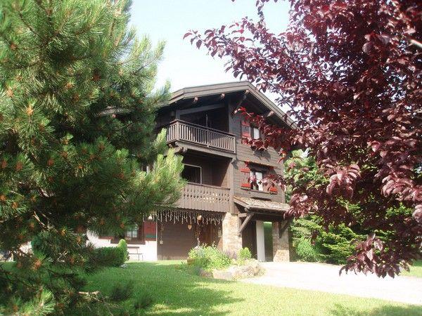 Outside view Location Chalet 912 Combloux