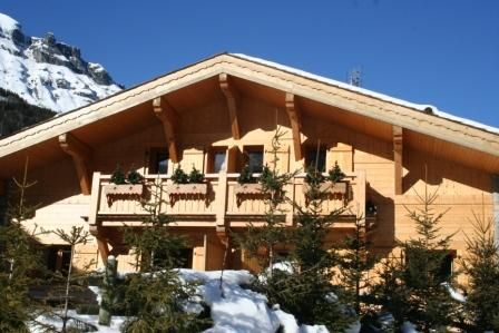 Outside view Location Chalet 930 Les Contamines Montjoie