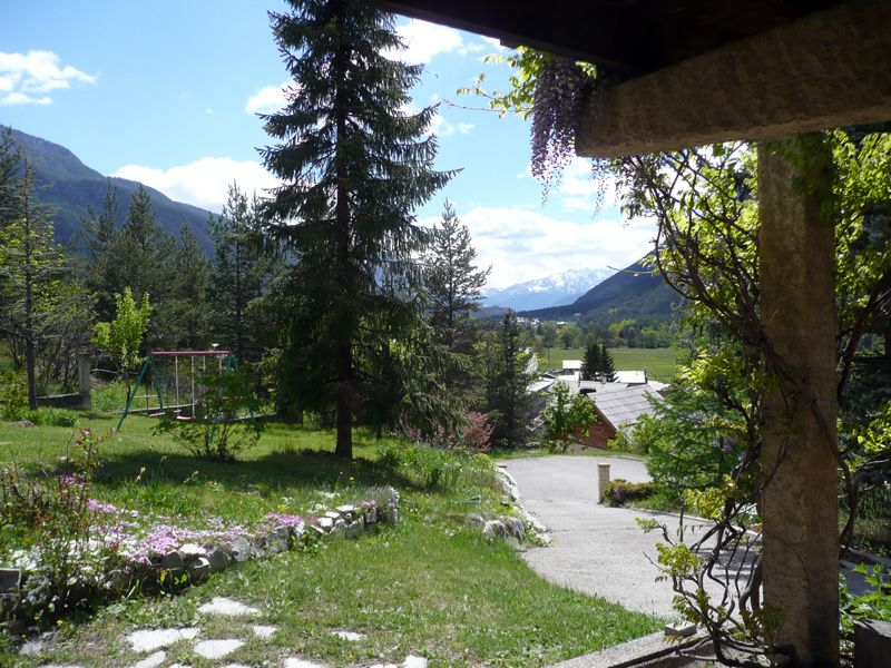 View from terrace Location Apartment 97968 Montgenevre