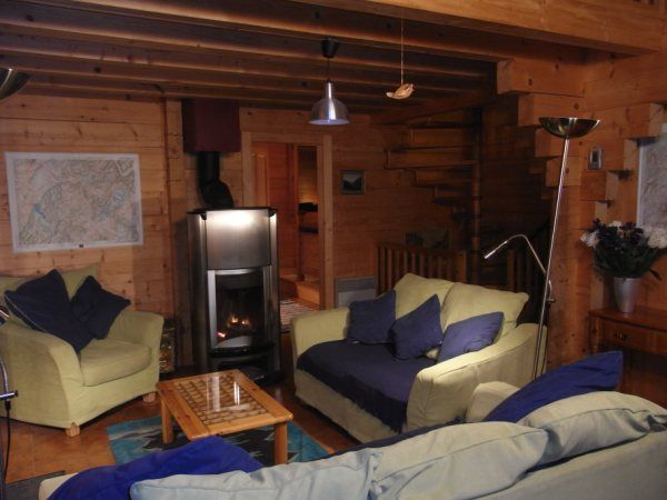 Living room Location Chalet 66858 Praz de Lys Sommand