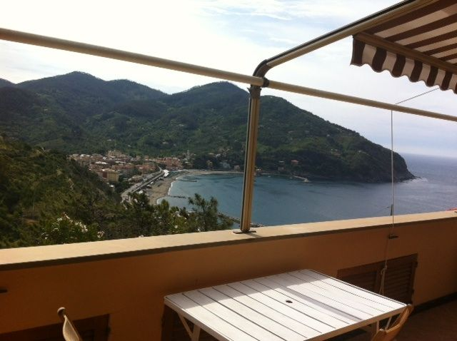 View from the balcony Location Apartment 75601 Levanto