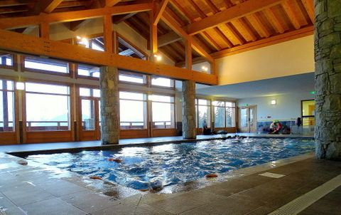 Swimming pool Location Apartment 66491 Les Saisies