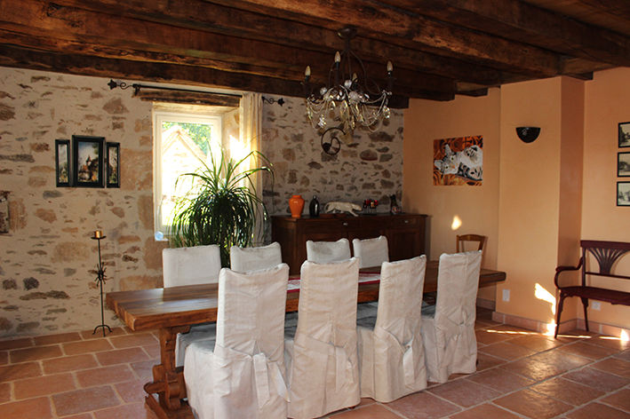 Dining room 2 Location Self-catering property 79870 Rocamadour