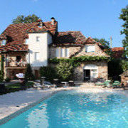 Swimming pool Location Self-catering property 79870 Rocamadour