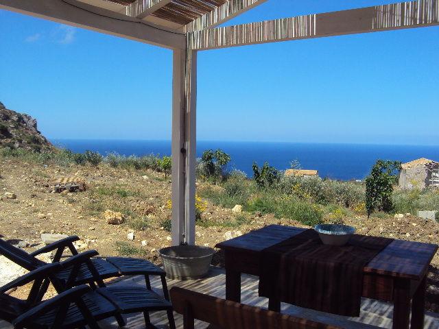 Outside view Location Villa 80627 Scopello
