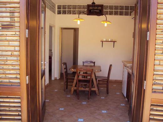 Basement storage Location Villa 80627 Scopello