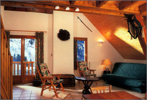 Sitting room Location Apartment 3327 Vaujany