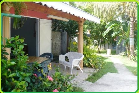 Terrace Location Self-catering property 71841 Sainte Anne (Guadeloupe)