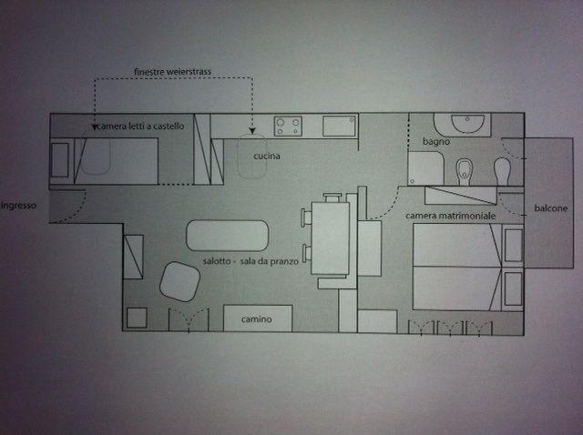 Property map Location Apartment 79781 Sauze d'Oulx