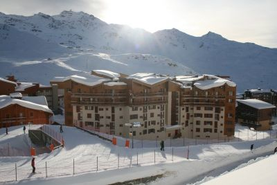 Outside view Location One-room studio flat 101421 Val Thorens