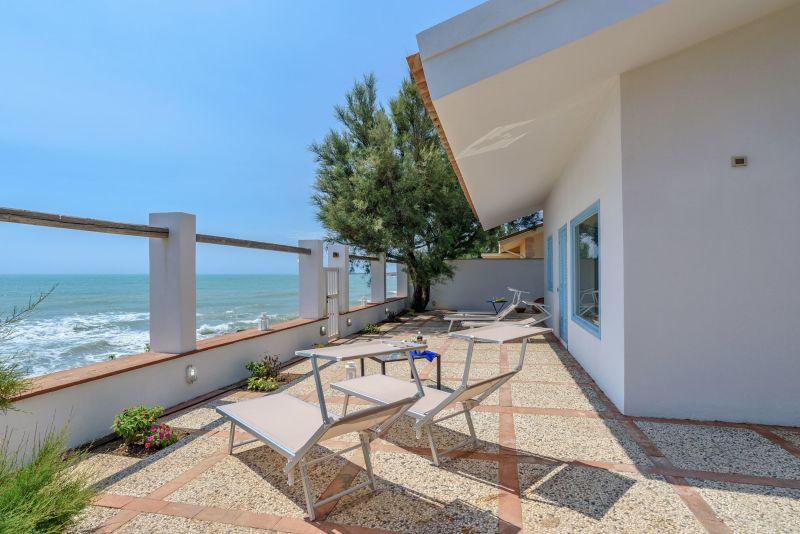 View from terrace Location Villa 116103 Punta Secca