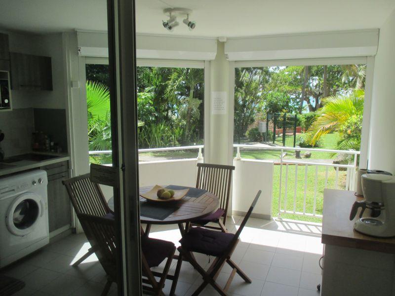 Loggia Location Studio apartment 117016 Gosier (Guadeloupe)