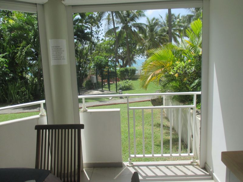 View from terrace Location Studio apartment 117016 Gosier (Guadeloupe)