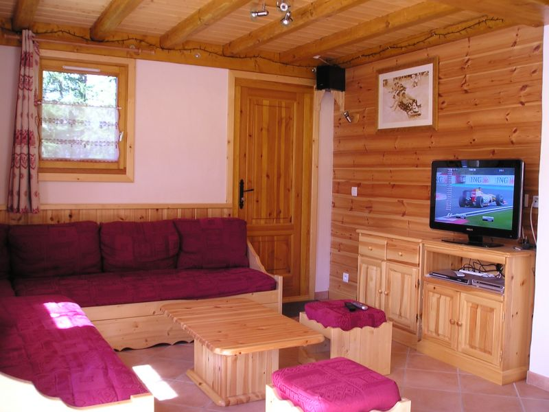 Sitting room Location Chalet 65260 La Plagne