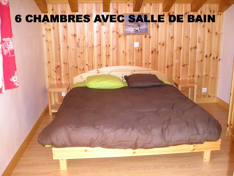 bedroom 1 Location Chalet 65260 La Plagne