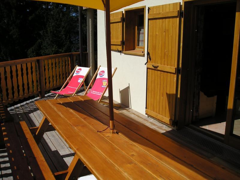 Terrace Location Chalet 65260 La Plagne