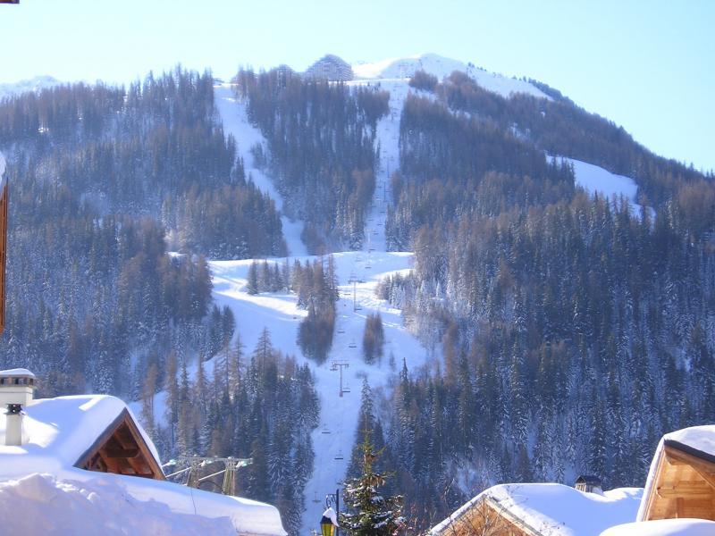 View from terrace Location Chalet 65260 La Plagne