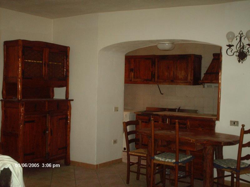 Open-plan kitchen Location Apartment 68455 Olbia