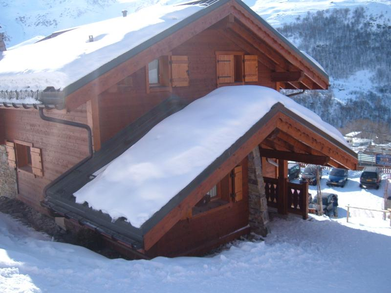 Outside view Location Chalet 73309 Les Menuires