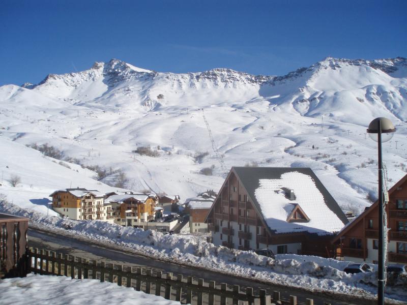 View from terrace Location Apartment 74184 Saint François Longchamp