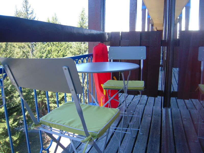 Balcony Location Studio apartment 80949 Les Arcs