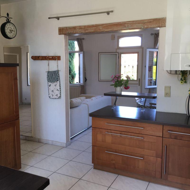 Open-plan kitchen Location House 84445 Le Touquet