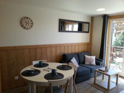 Living room Location Studio apartment 100739 Les 2 Alpes