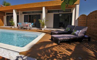 Swimming pool Location Villa 102442 La Saline les Bains