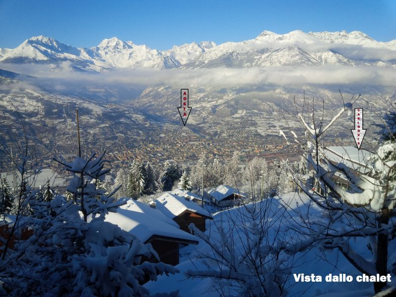 View from terrace Location Chalet 103368 Pila