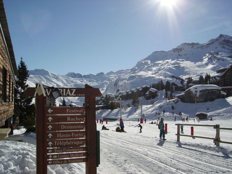 Other view Location Studio apartment 106772 Avoriaz