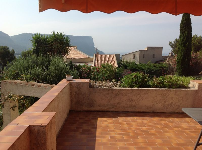 View from terrace Location Villa 109451 Cassis