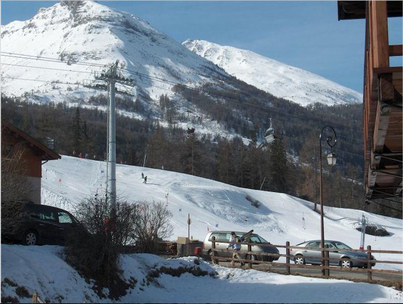 View from the balcony Location Apartment 109968 Val Cenis