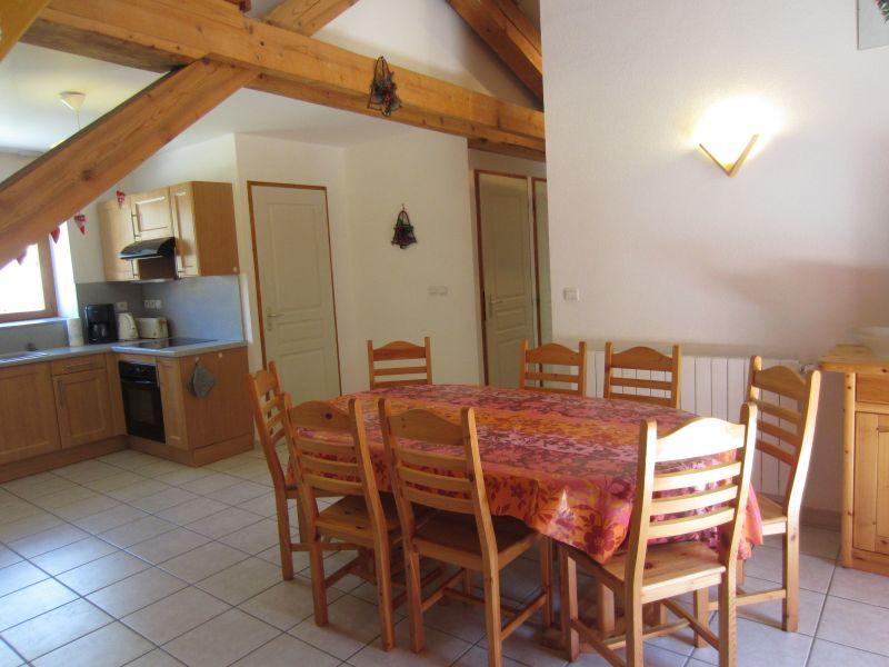 Open-plan kitchen Location Apartment 109968 Val Cenis