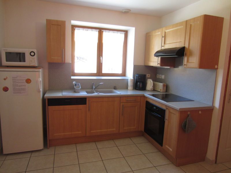 Open-plan kitchen Location Apartment 109968 Val Cenis