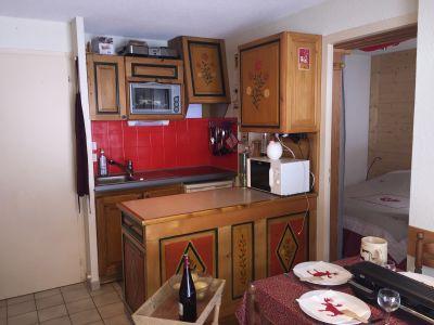Open-plan kitchen Location Apartment 111434 Châtel