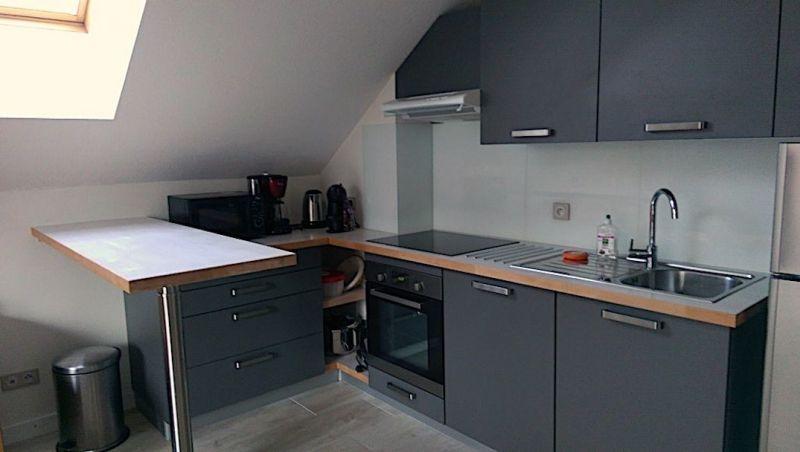 Open-plan kitchen Location Apartment 117722 Valloire