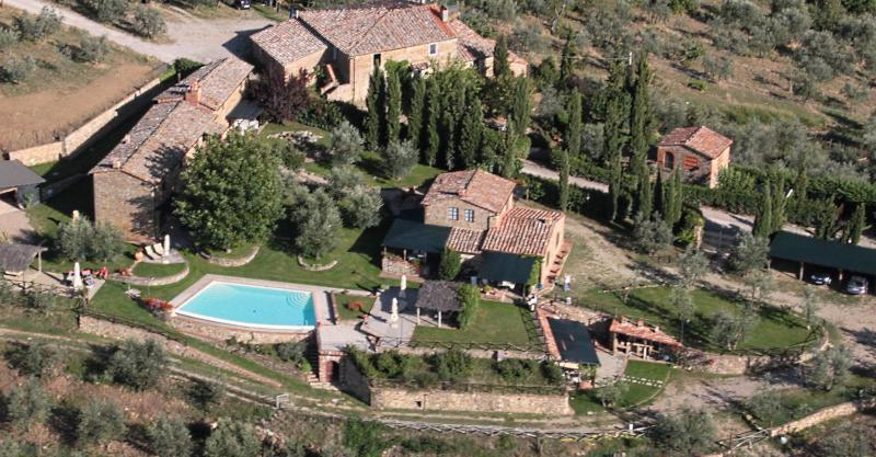 View from the property Location Self-catering property 65957 Siena