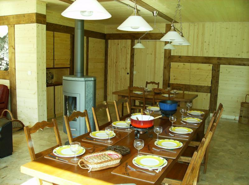 Dining room Location Chalet 66735 La Clusaz