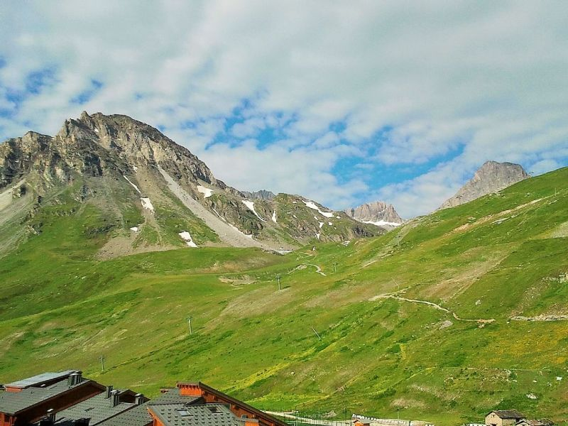 View from the balcony Location Apartment 91741 Tignes