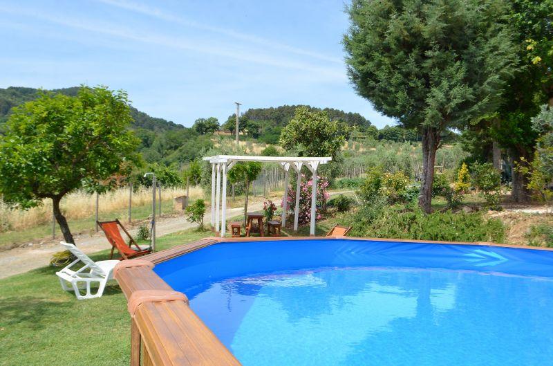 Swimming pool Location Apartment 100209 Chianni
