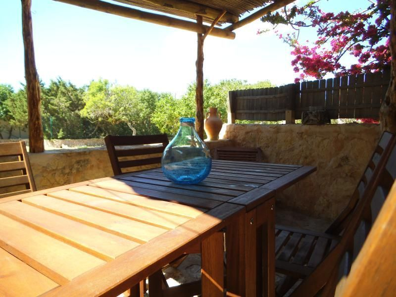 View from terrace Location Apartment 114681 Formentera