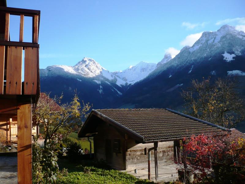 View from the property Location Chalet 72056 La Clusaz