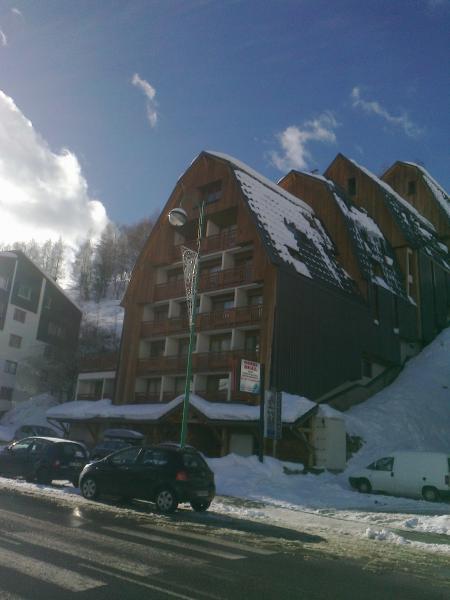 Outside view Location Studio apartment 73843 Les 2 Alpes