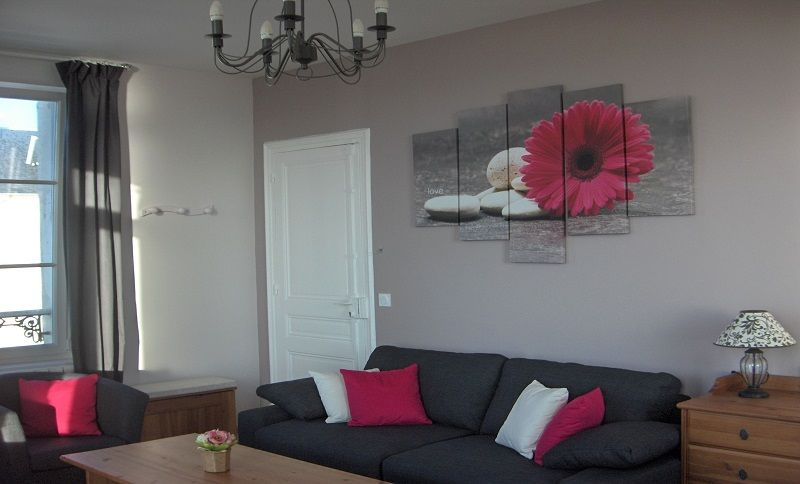 Sitting room Location Apartment 79299 Cabourg