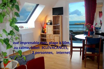 View from the property Location Flat 79685 Perros-Guirec