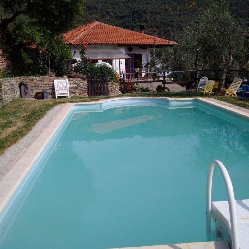 Swimming pool Location Self-catering property 80918 Dolcedo