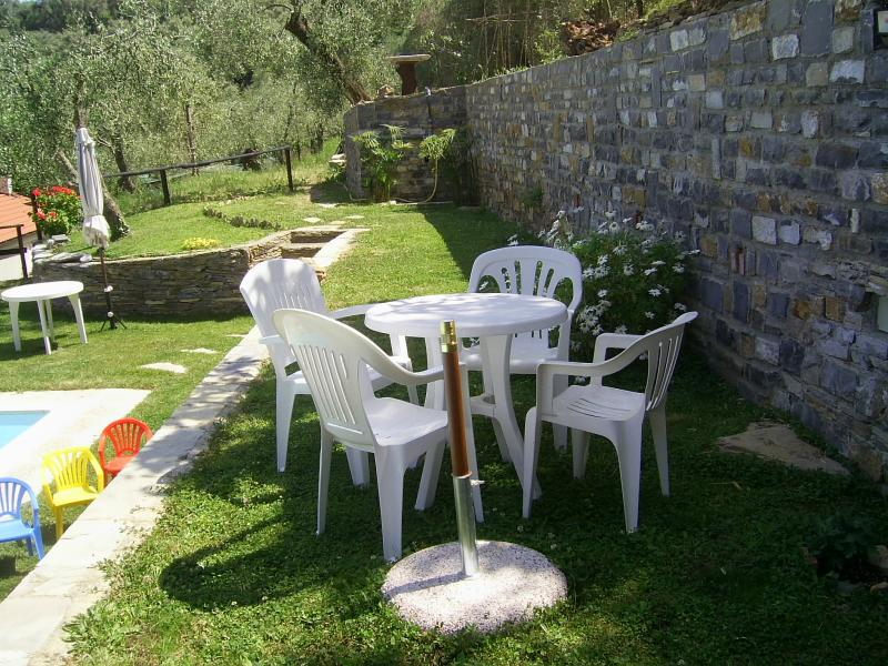 Garden Location Self-catering property 80918 Dolcedo